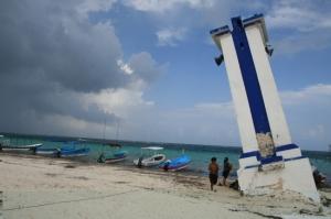 le phare de Puerto Morelos