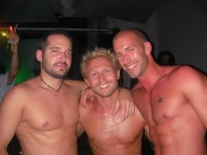 les 3 copains au Coco Maya