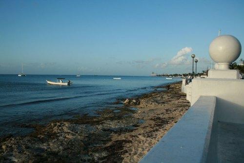 Front de mer à Cozumel