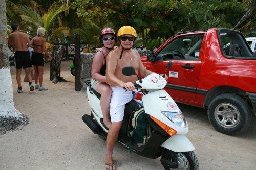 les motards en route!