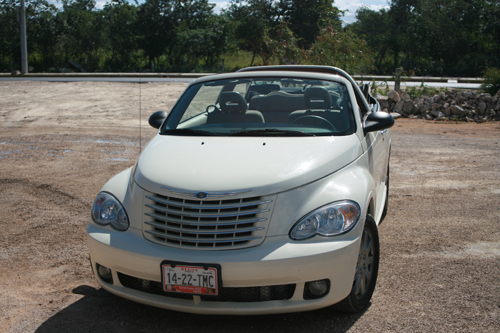 el PT Cruiser convertible
