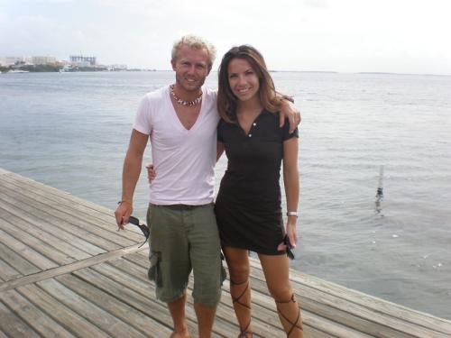 Vue sur la lagune, Cancún