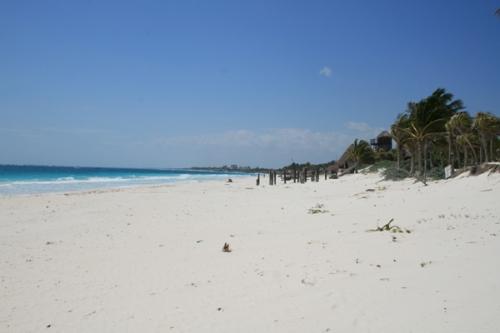 Tulum (trop de monde sur la plage! ah ah)