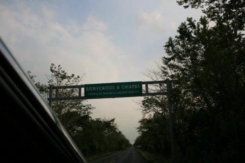 arrivée dans le Chiapas!