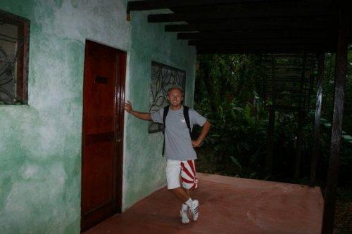 Arrivée aux Cabanas El Chato del Panchan