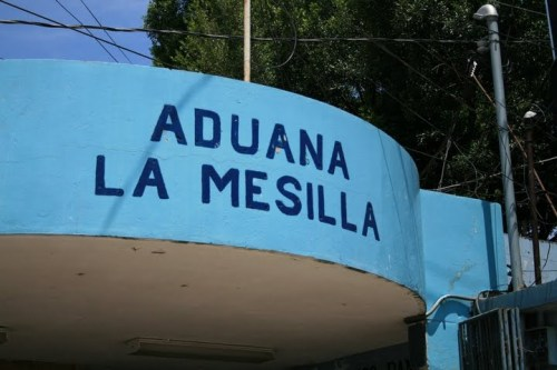 La Mesilla, frontière Mexique - Guatemala