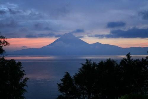 Coucher de soleil sur le Lac Atitla