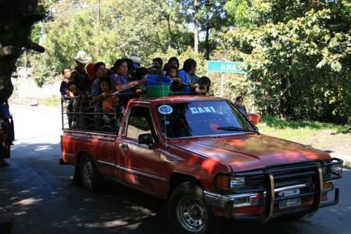 """le """"colectivo"""" guatémaltèque... serrés?!"""