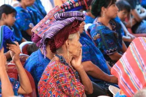 costume traditionnel Santa Catarina, Guatemala