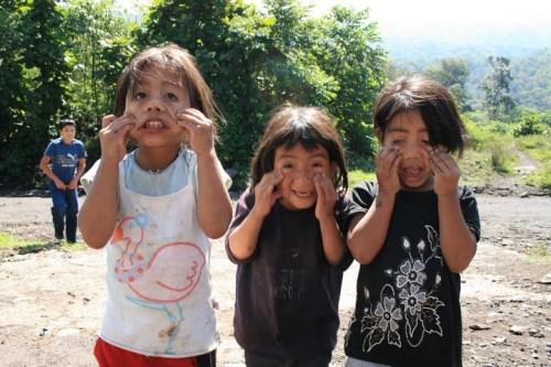 enfants, Santiago Atitlan