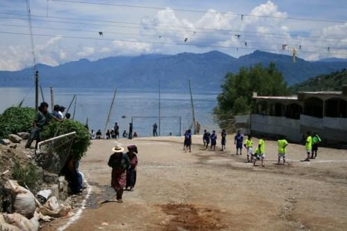 terrain de foot guatémaltèque