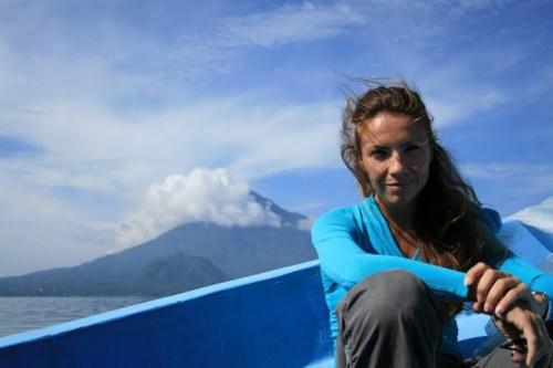 ... sur le Lac Atitlan.. (depuis le temps que j'attends ce moment!)
