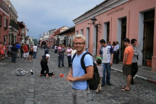 la rue principale, Antigua