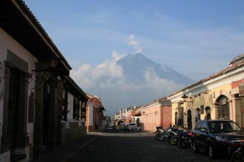 Antigua, au pied des volcans... trop beau!!