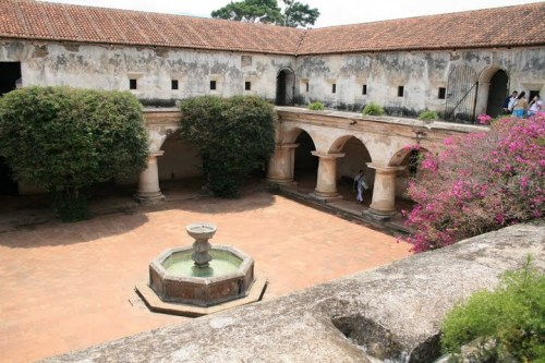 couvent des capucines, Antigua
