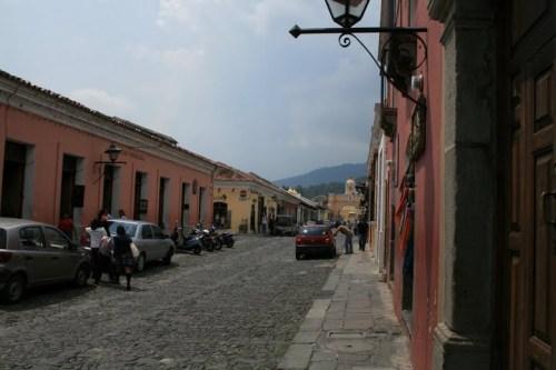 rue principale Antigua, Guatemala