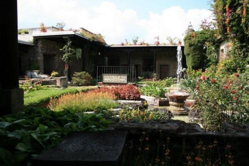 le patio de la Posada Don Rodrigo, Antigua, Guatemala