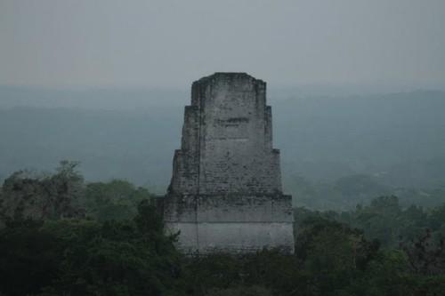 Le Temple 3 depuis le temple 4