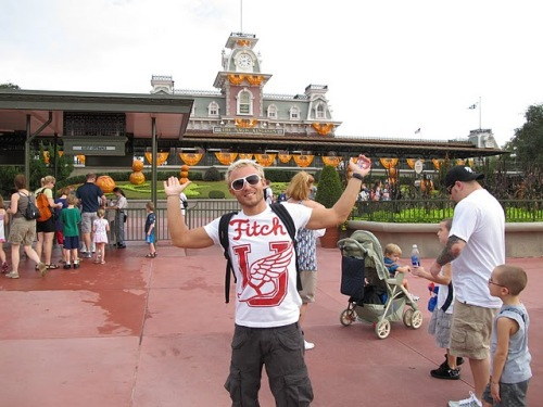 Bruno Blot a Disney World