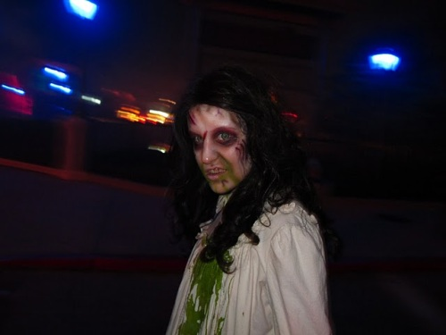 Halloween Horror Nights - street