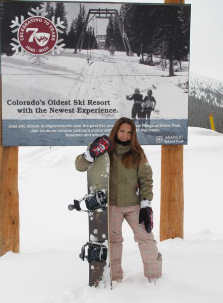 Anne Blot Clarac a Winterpark