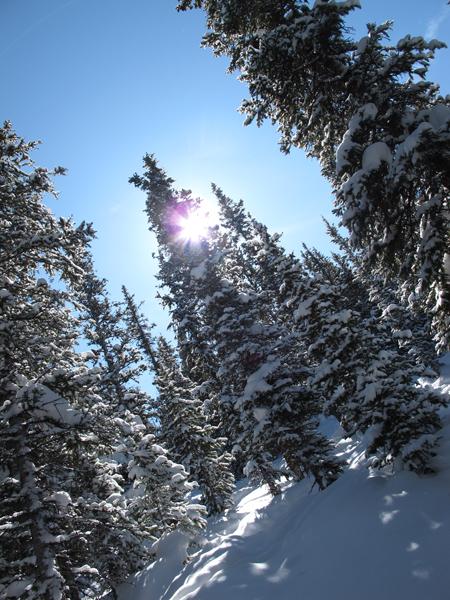 Hors piste winterpark