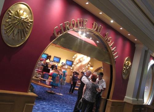 Cirque du Soleil au Bellagio, Las Vegas