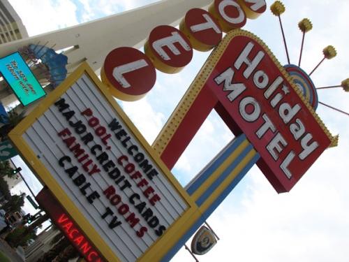motel glauque, Las Vegas