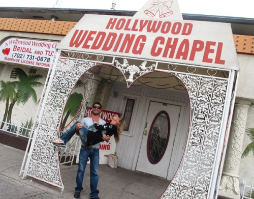Wedding chapel, Las vegas